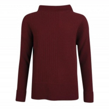 Barbour Lossie Knit Sweater - Garnet