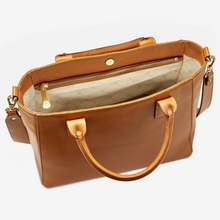 Hudson Satchel in Nappa Lux Pebble Leather