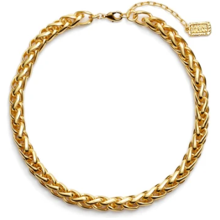 Karine Sultan Braided Link Necklace