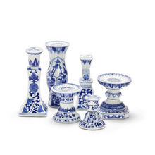 Canton Candle Holder Collection, Set of 6 Candleholders