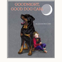 Goodnight, Good Dog Carl board book by Alexandra Day