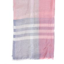 Barbour Tynemouth Check Wrap Pink/Blue/Mist