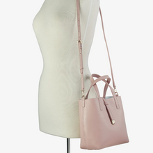 GiGi New York Mini Luna Leather Tote and Crossbody