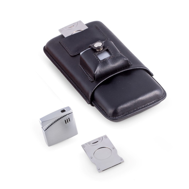 Travel Cigar Holder and Cutter