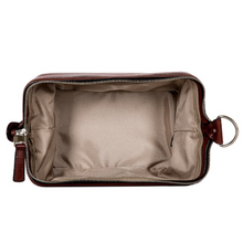 Bosca Leather Dopp Kit