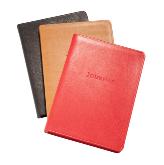 Medium Travel Journal Traditional Leather