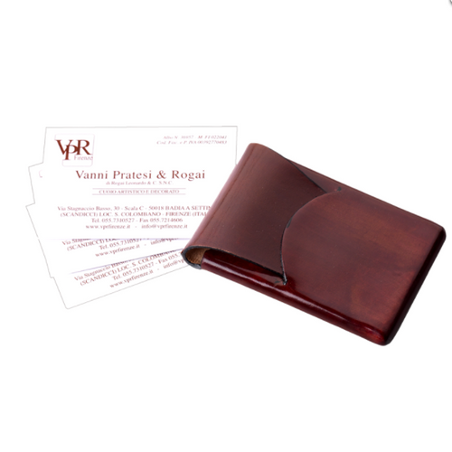Vanni Pratesi & Rogai Leather Business Card Case