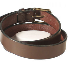 Wiley Brothers Traditional Leather Belt