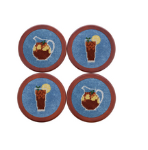 Needlepoint Coasters