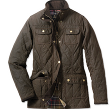 Barbour Quilted Utility Wax Jacket