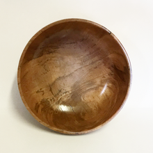 Small Cherry Burl Wooden Bowl