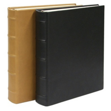 Photo Album, Traditional Colors Smooth Leather, Small, Medium, Large