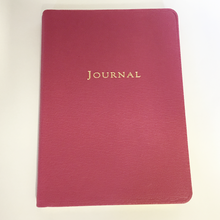 Medium Travel Journal Bright Pebbled Leather