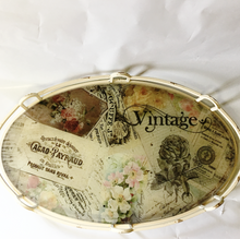 Vintage Round and Oval Tray