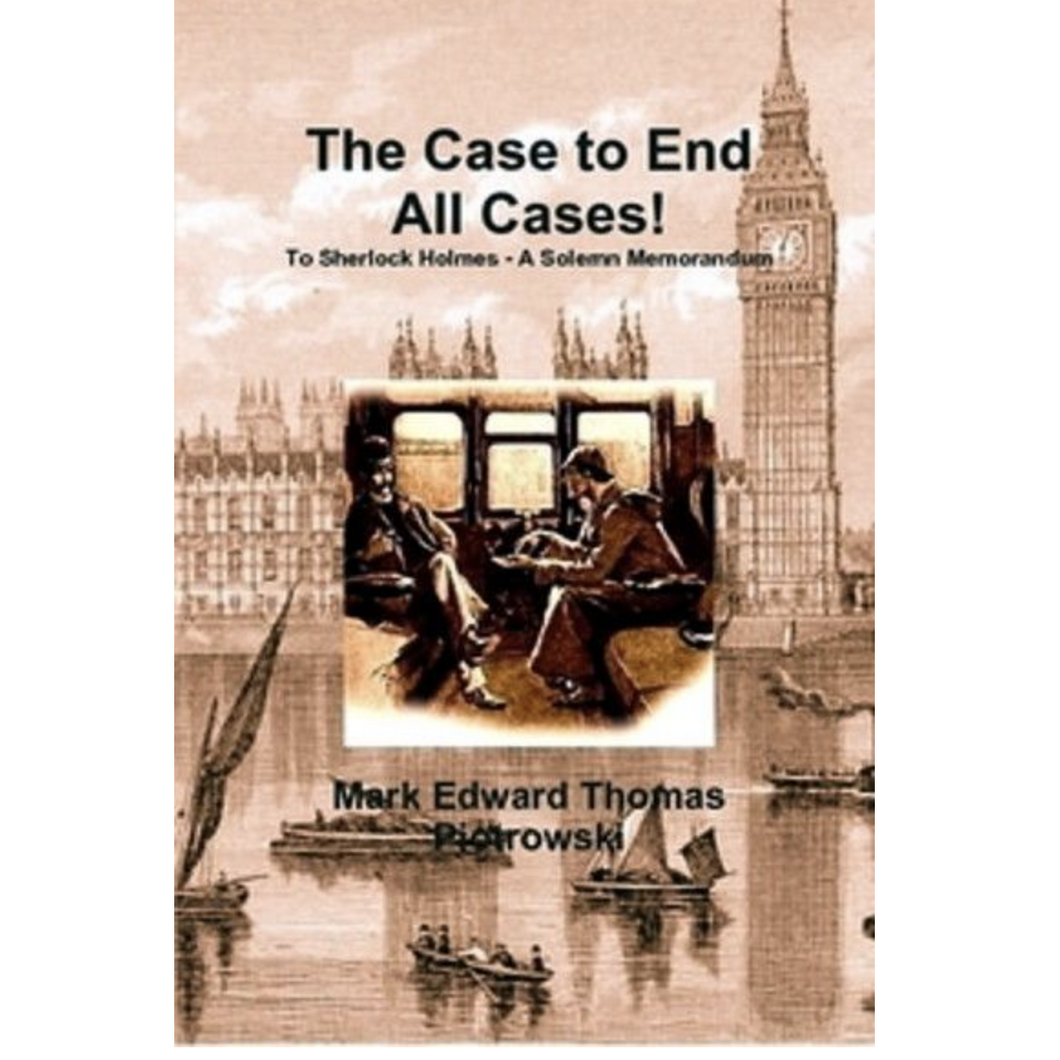 The Case to End All Cases Book