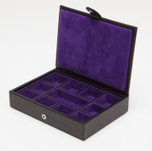 Blake Leather Cufflink Box