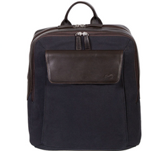 Canvas and Leather Flint Backpack