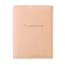 Leather Passport Cover - Bright Colors