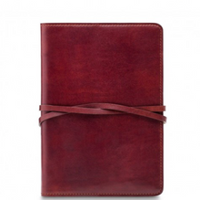Leather Journal with Tie Closure