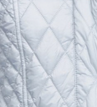 Barbour Ice White Millfire Quilted Jacket