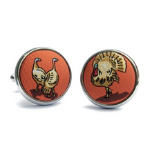 Silk Cuff Links