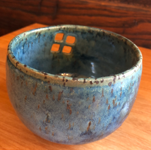 Kitty Williams' Pottery Small Blue Bowl