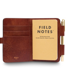 Leather Field Journal