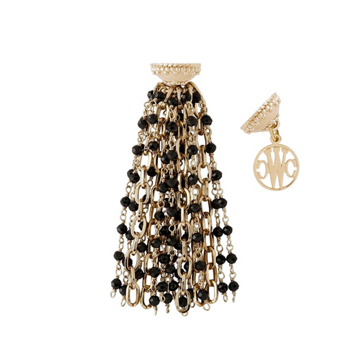 Ashley Spinel Tassel T-1274