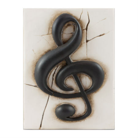Treble Clef Memory Block