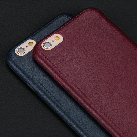 PU leather case for IPhone 6/6s 6/6s plus premium quality