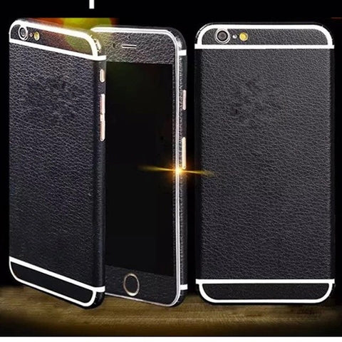 Luxury PU Leather Film protector fit For iPhone 6 6s/ 6 Plus 7 7 plus