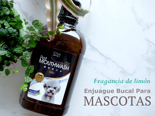 Enjuague Bucal Bebible para Mascotas Sabor Limón 750ml