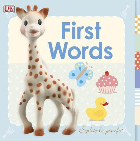 Sophie La Girafe First Words  book Generic green child of mine