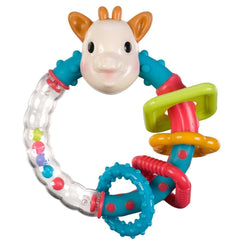 Sophie The Giraffe Multi Textured Rattle   Sophie the Giraffe green child of mine