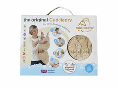 Cuddledry Apron Bath Towel (Dusty Blue) Blue and white  baby towel Cuddledry green child of mine