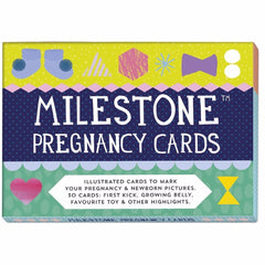 Milestone Pregnancy Cards  Gift Sets MILESTONE Cards green child of mine