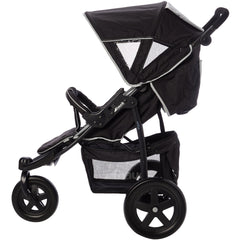Hauck Viper Jogger - Caviar/Grey  Pram Hauck green child of mine