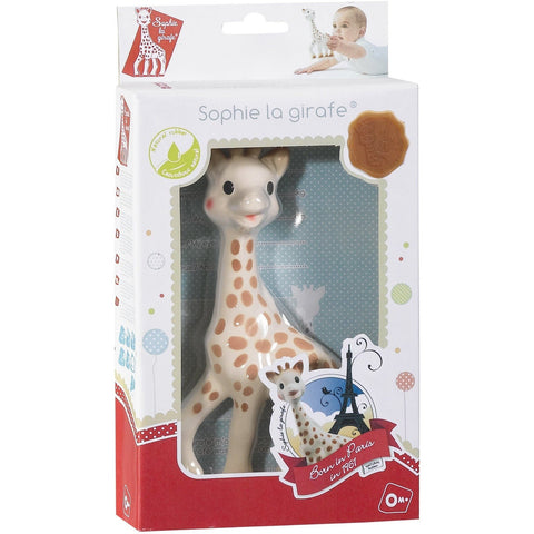 Sophie The Giraffe in Fresh Touch Gift Box Fresh Touch Gift Box (2015 Version)  Teethers Sophie la girafe green child of mine