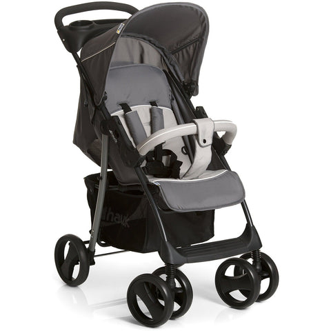 Hauck Shopper SLX Trio Set - Stone/Grey Grey  Pram Hauck green child of mine