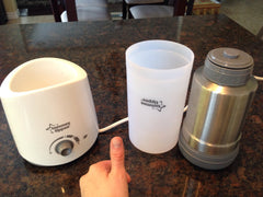 Tommee Tippee Electric Bottle and Food Warmer and travel warmer