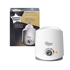 Tommee Tippee Electric Bottle and Food Warmer in and out of packaging