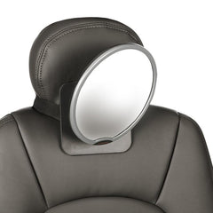 dion easy view mirror for car attached to headrest