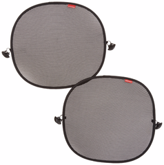 diono sun stoppers side window solar mesh side by side