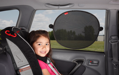 Diono Sun Stoppers Side Window Solar Mesh Shade (Black Pack of 2)  Sunshade for children in car Diono green child of mine