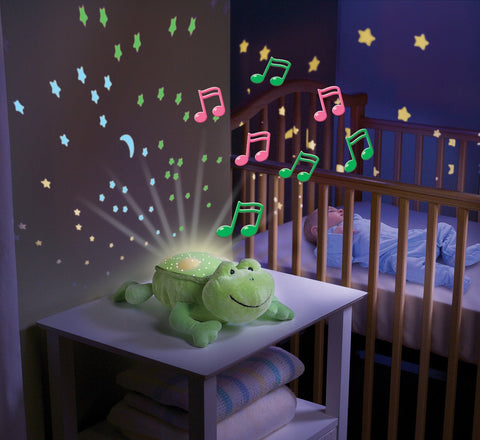Nursery Night Light Slumber Buddy Frankie The Frog  Nursery Night Light Summer Infant Green Child Of Mine