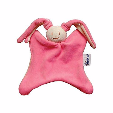 Keptin Jr Toddel Rattle - Rabby Pink  Rattles and Comforters Keptin Jr green child of mine
