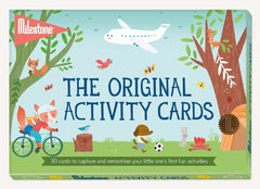 milestone activity cards in packet