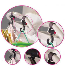 Pram hooks for shopping Happy Mummy Hook and Strollin  Black  Stroller Hooks Hook n Stroll Green Child Of Mine