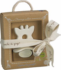 Sophie la girafe So' Pure Natural Teether  Natural Bpa Free Teether Sophie la girafe green child of mine