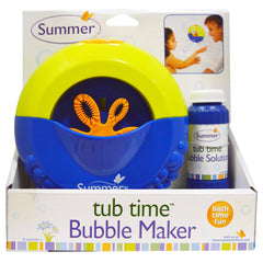 Summer Infant Tub Time Bubble Maker with Solution  Bubble maker machine Summer Infant green child of mine